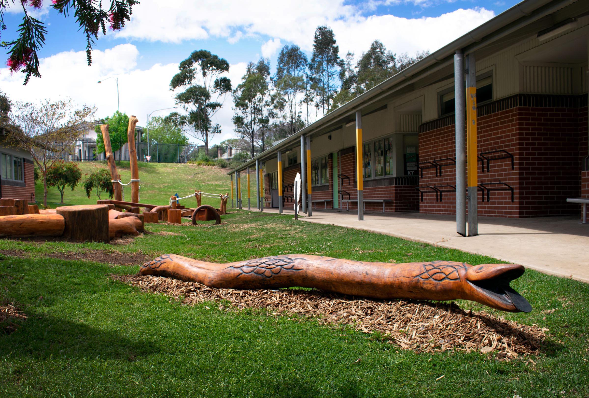 Snake Play Sculpture
