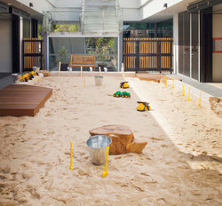 Sand Pit with Decks