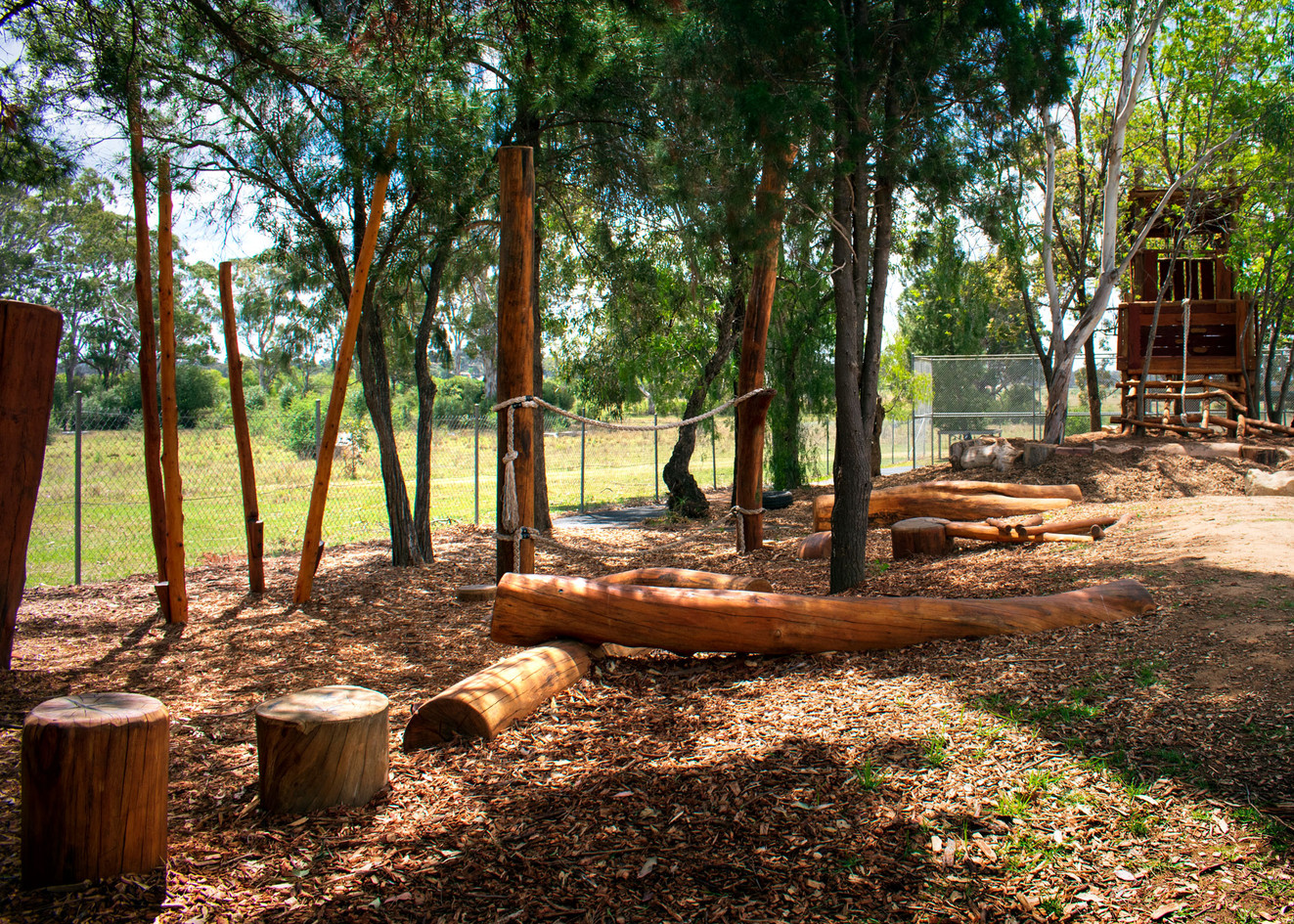 Natural Play Trail and Treehouse
