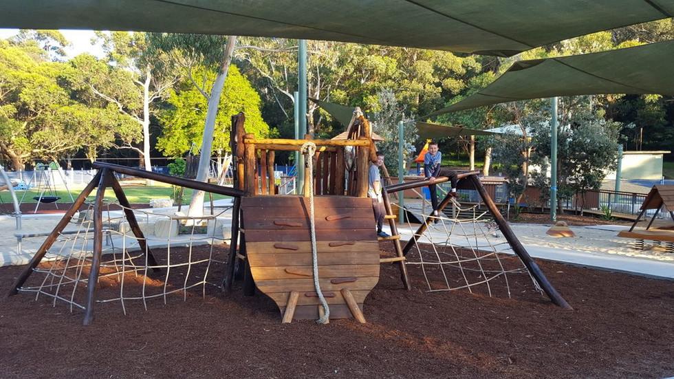 Microbat themed playground