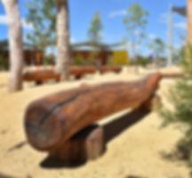 Natural Log Seats