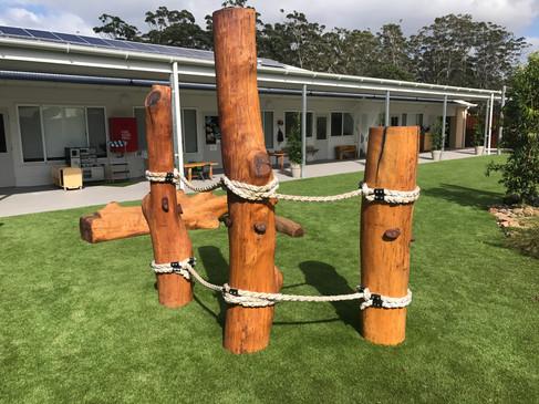 Totem Rope Climb
