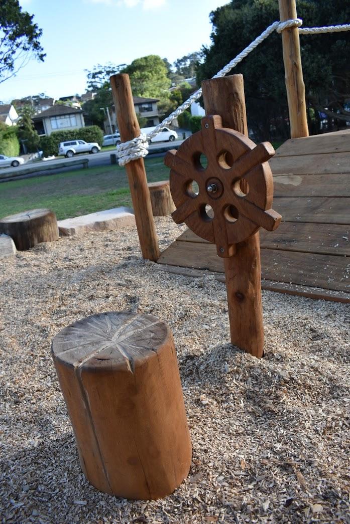 Terrigal Ship wheel
