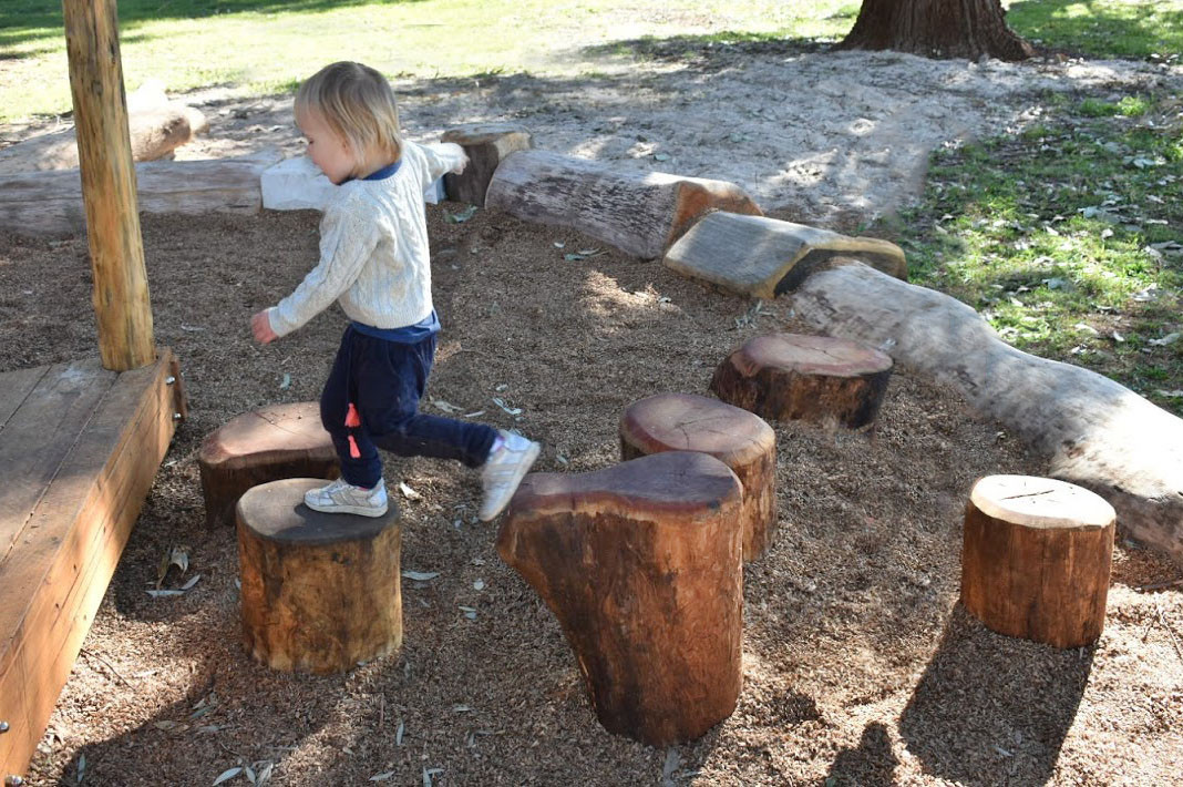 Natural Log Steppers