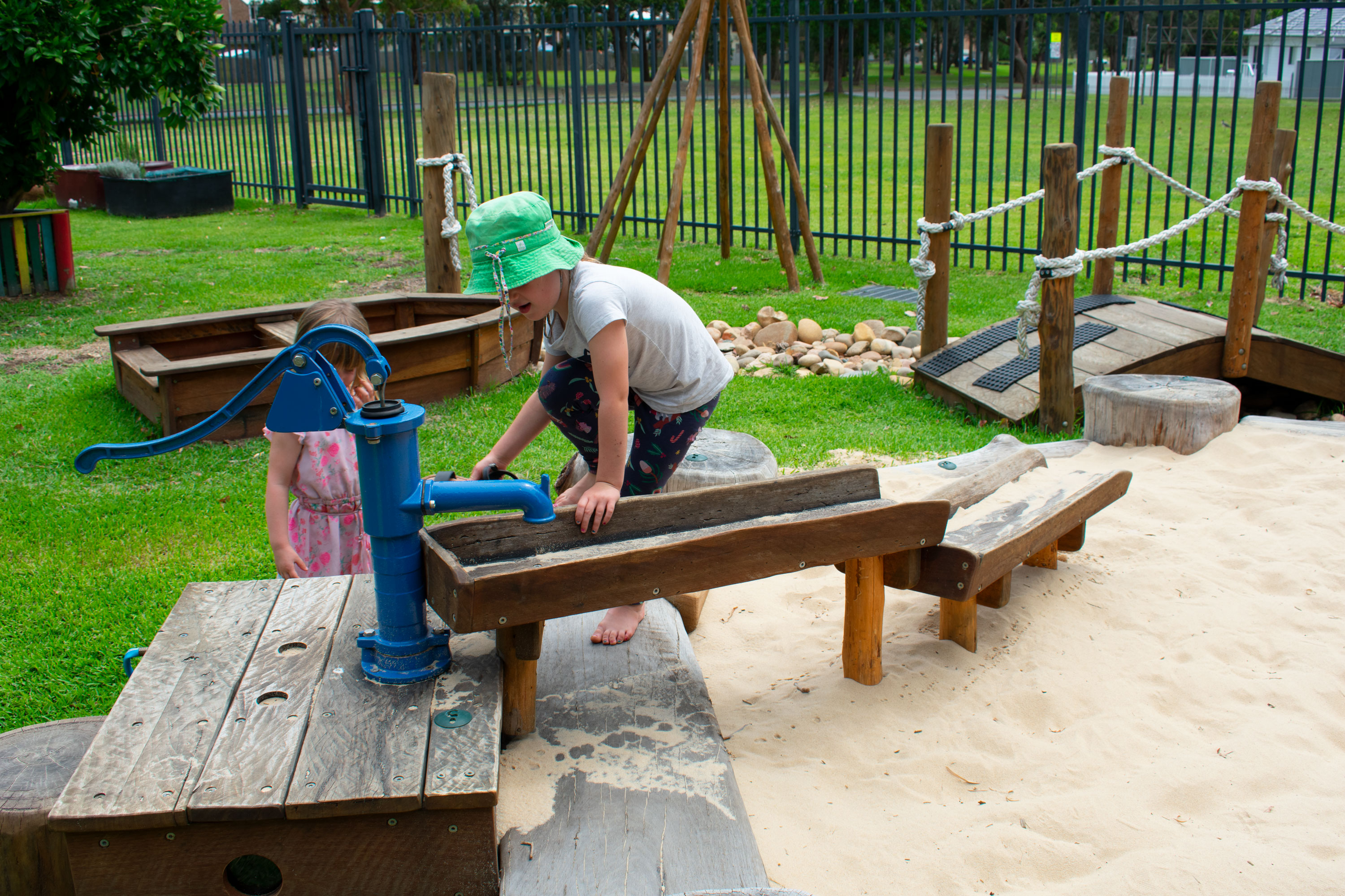 Sandpit Water Play