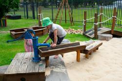 Sandpit Water Play