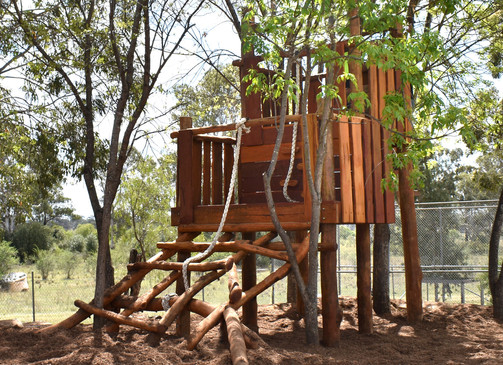 Double Deck Treehouse