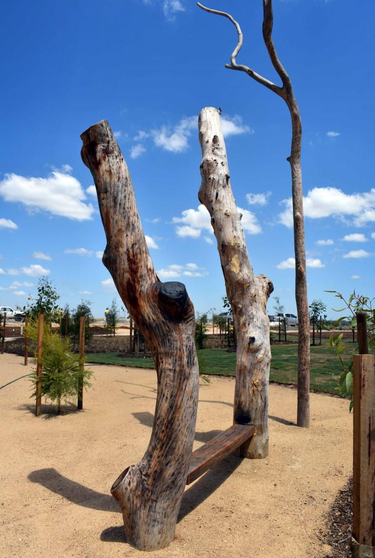 Sculptural Tree Seat