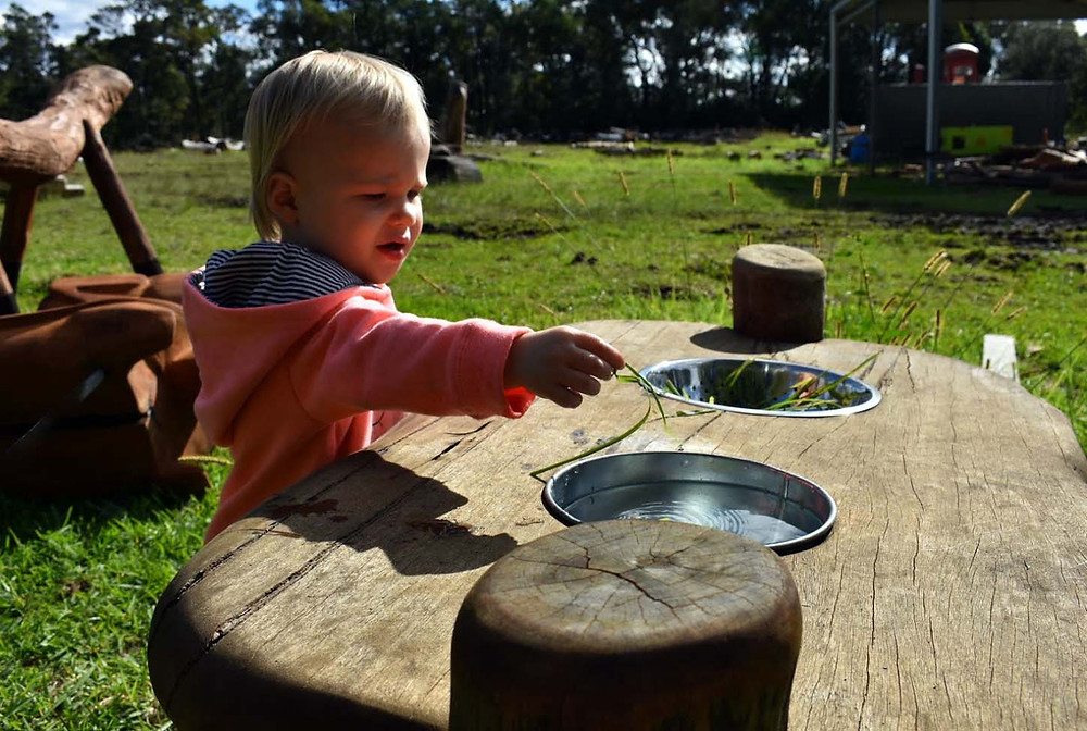 Natural Play Activity Table