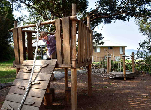 School Climbing Fort