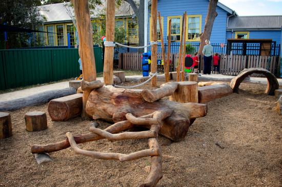 Guliyali Preschool Log Playground