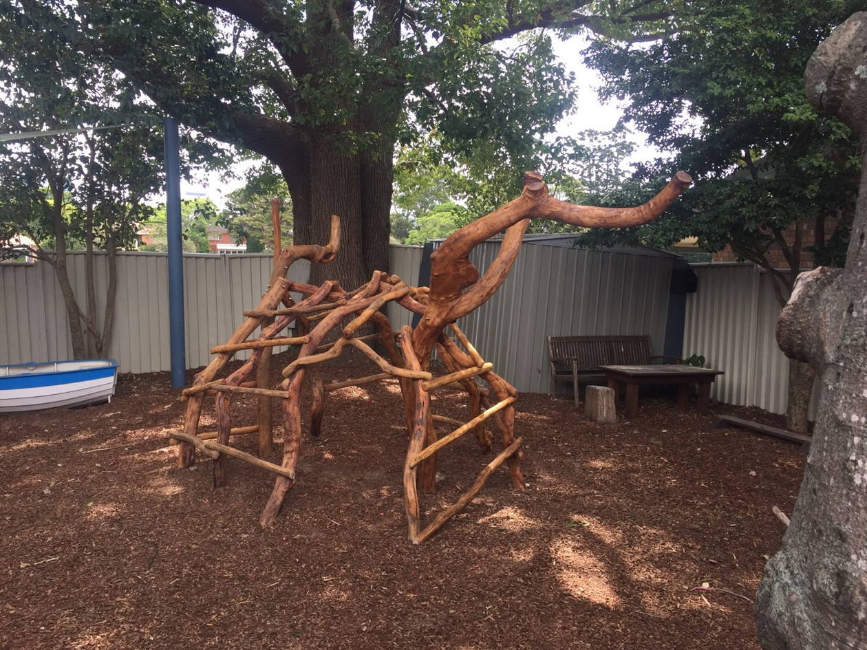 Sculptural Branch Climber