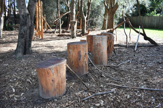 Leading log steppers