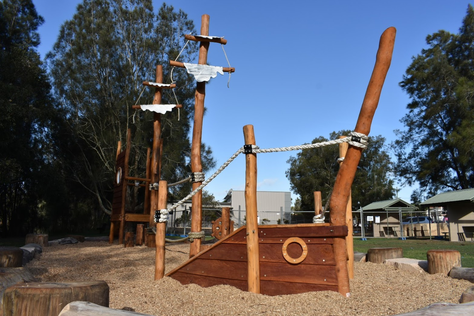 Ship Playgrounds at Terrigal