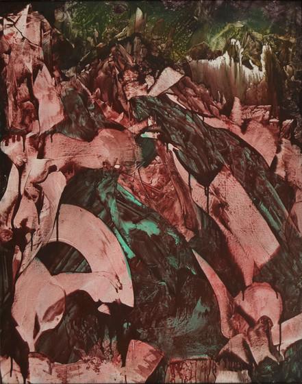 Landscape Study, acrylic on panel, 24x30, 2017