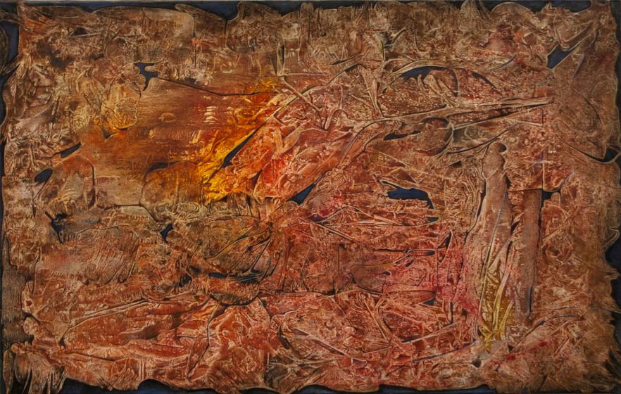 Rune, oil on canvas, 38x24, 2014