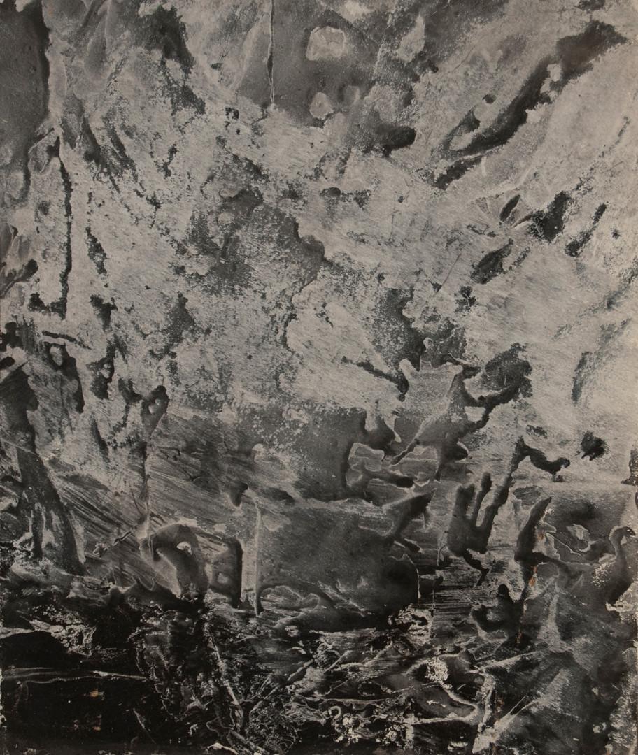 Black Snowflake, acrylic on panel, 10x12, 2017