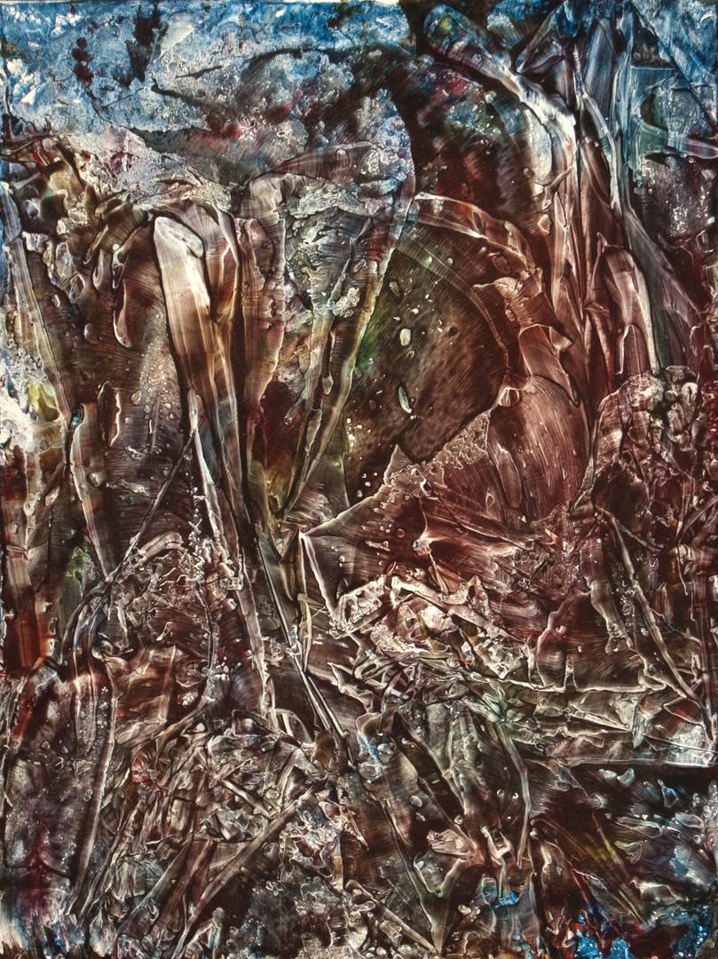 Landscape Study, acrylic on panel, 18x24, 2017