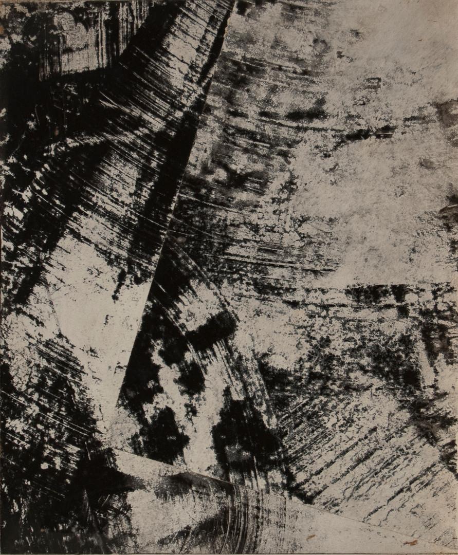 Black Snowflake, acrylic on panel, 10x12, 2016