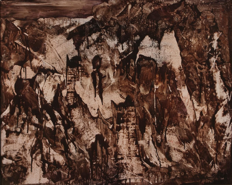 Landscape Study, acrylic on panel, 30x24, 2016