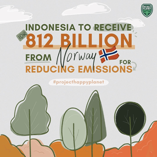 INDONESIA TO RECEIVE IDR 812.86 BILLION FROM NORWAY FOR REDUCING EMISSIONS