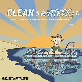 USING TECHNOLOGY TO FREE INDONESIA'S WATERS FROM PLASTIC