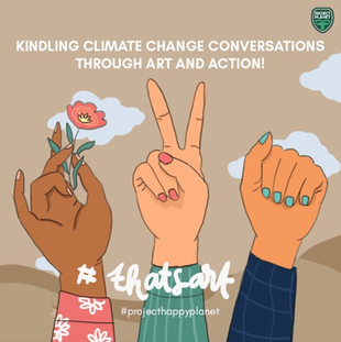KINDLING CLIMATE CHANGE CONVERSATIONS THROUGH ART AND ACTION