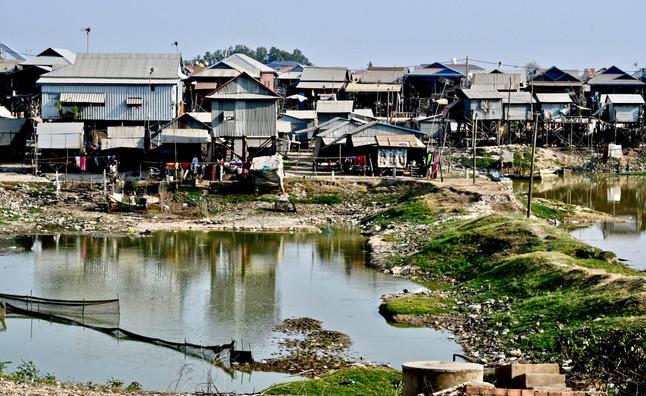 """Kampong Khleang - """"Floating Village"""""""
