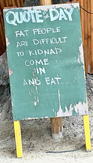 wicked sense of humour