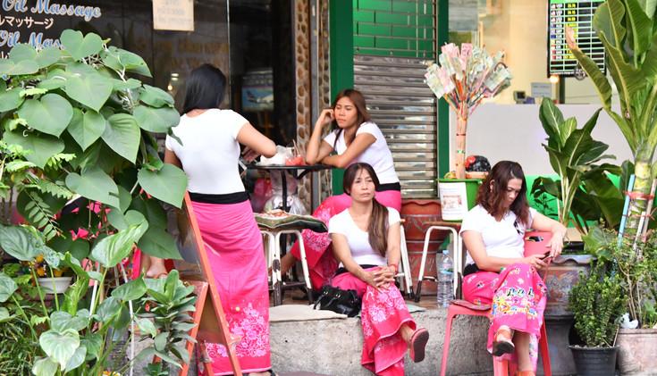 Massage girls