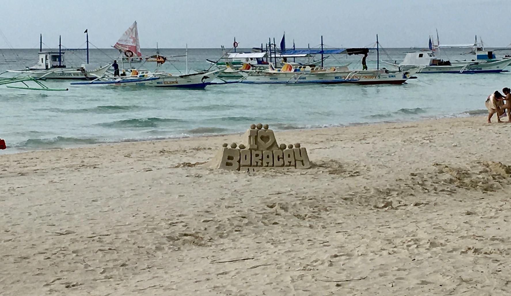 Kids do the Sandcastles