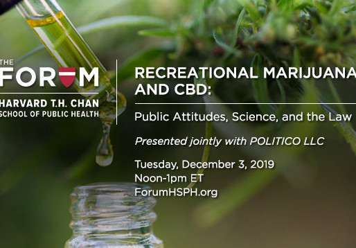 Recreational Marijuana and CBD: Public Attitudes, Science, and the Law
