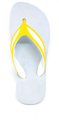 tira Champion branca com amarela