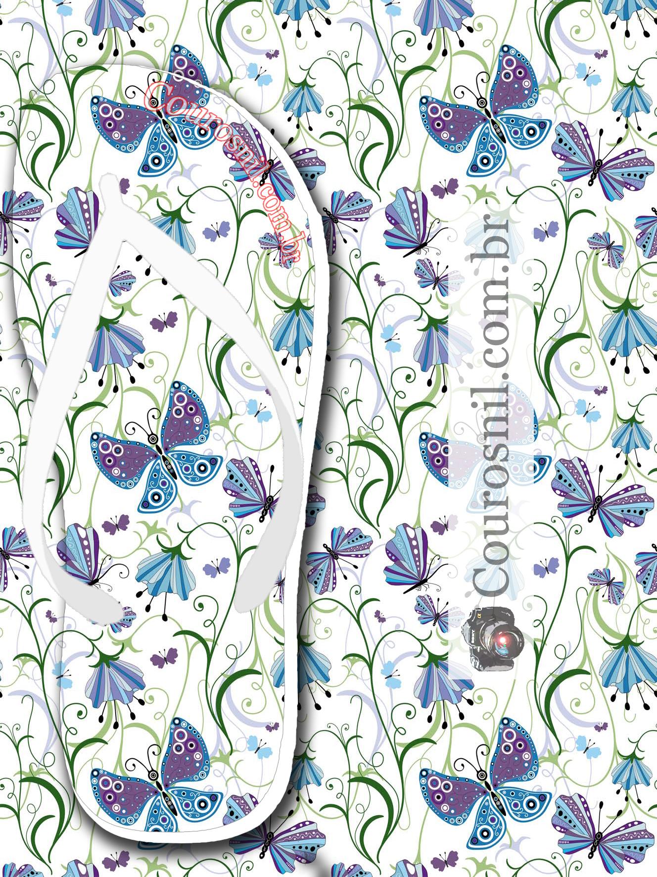 borboleta lilas