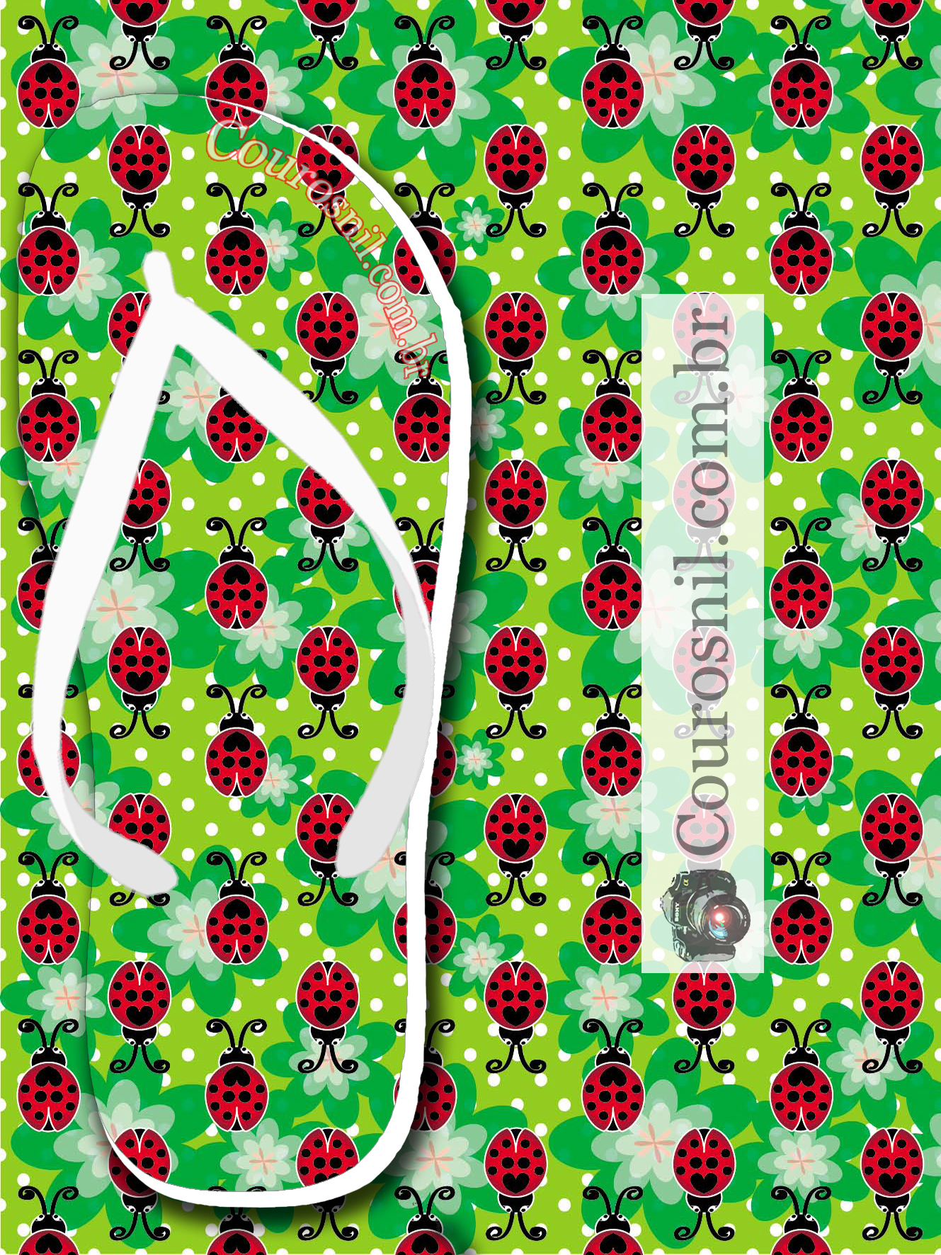joaninha verde