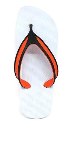 tira Champion laranja com preta