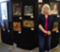 Judith Sanders-Wood and display.jpg