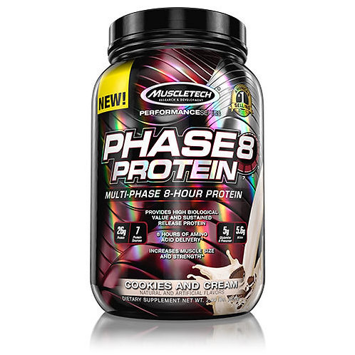 Muscletech Phase8 High Performance Protein