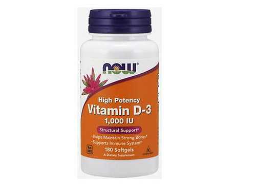 Now Brand Vitamin D3