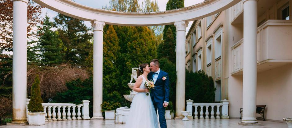 Ślub w pięknej oprawie w Hotelu Windsor w Jachrance - maj 2021