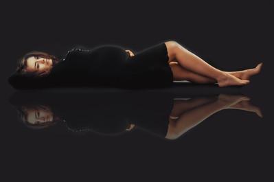 sesja ciążowa odbicie
