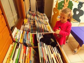 bibliothèque maternelle