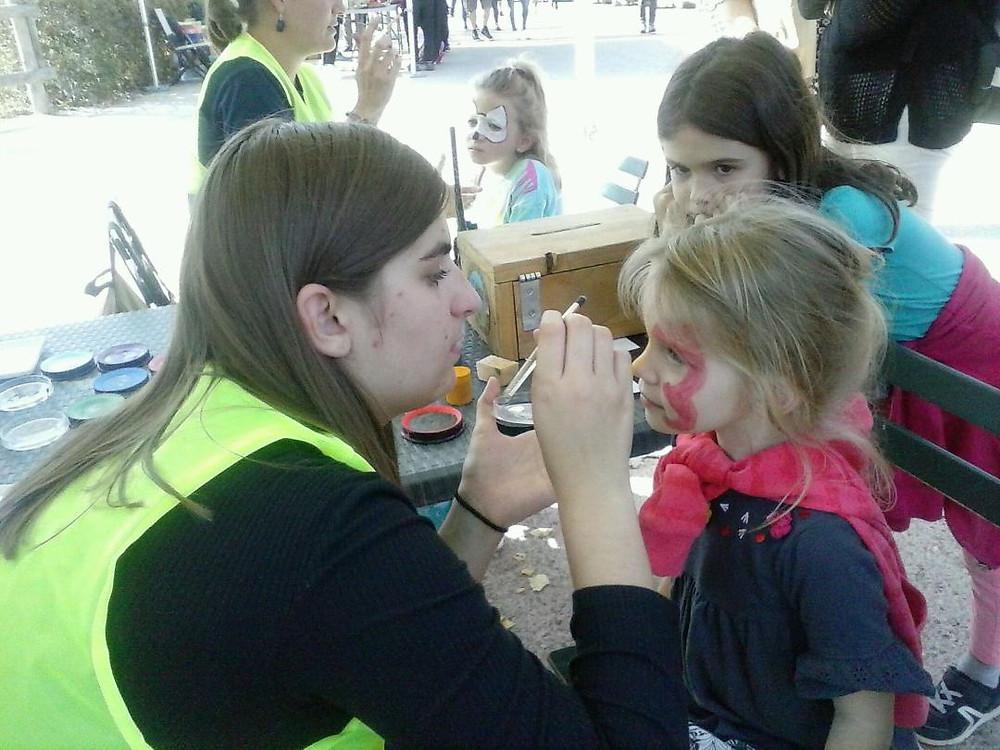 maquillage de jeunes enfants