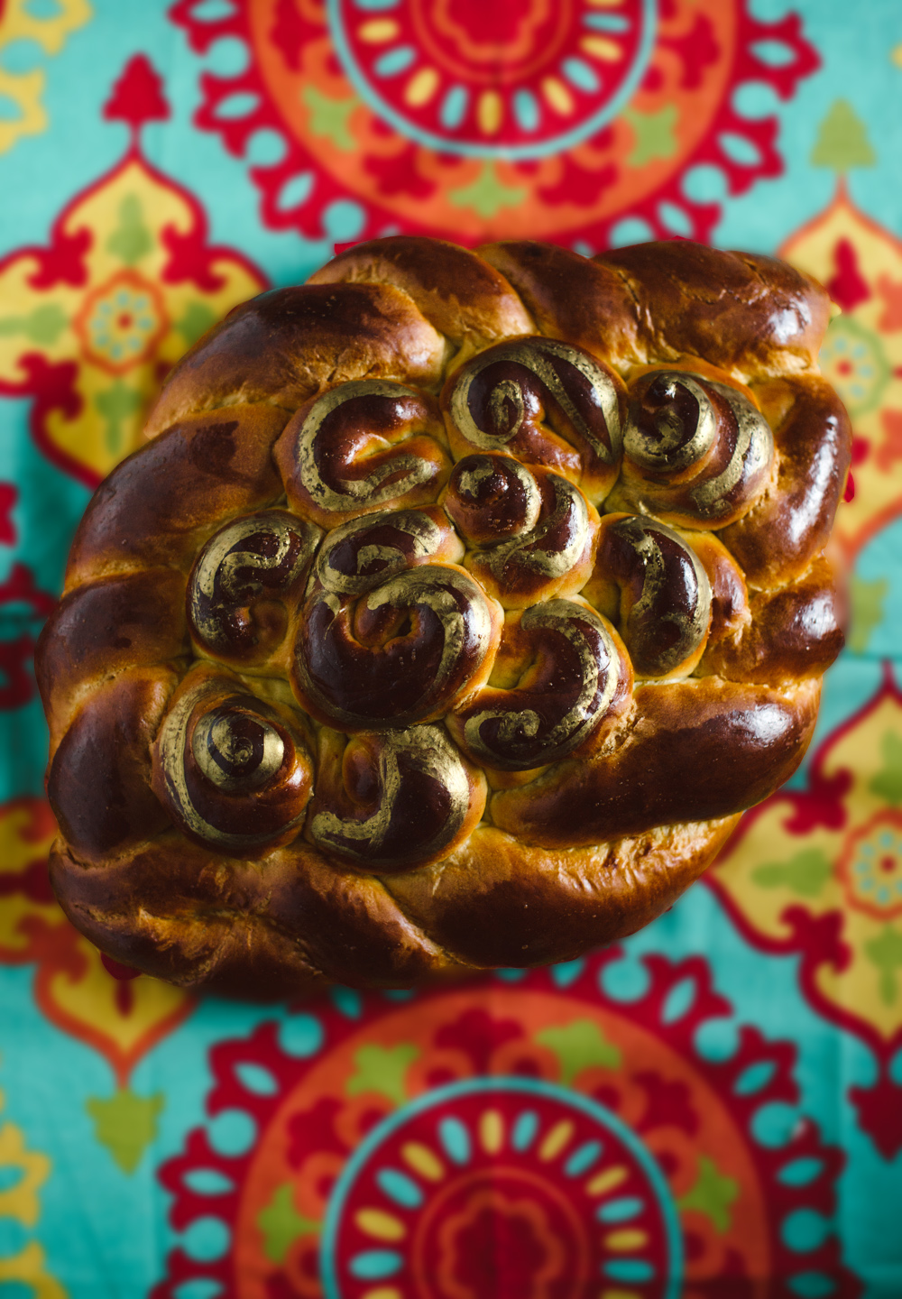 Gold Medallion Challah