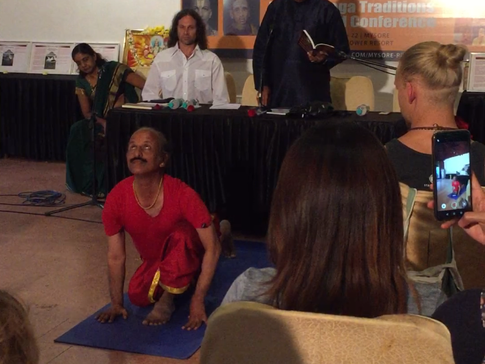 Mysore Yoga Traditions Retreat and Conference: Lecture Notes