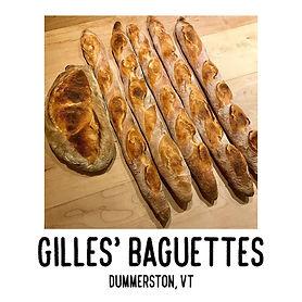 Gilles's Baguettes