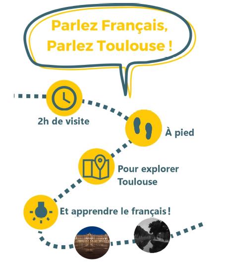 flyer parlez français parlez toulouse