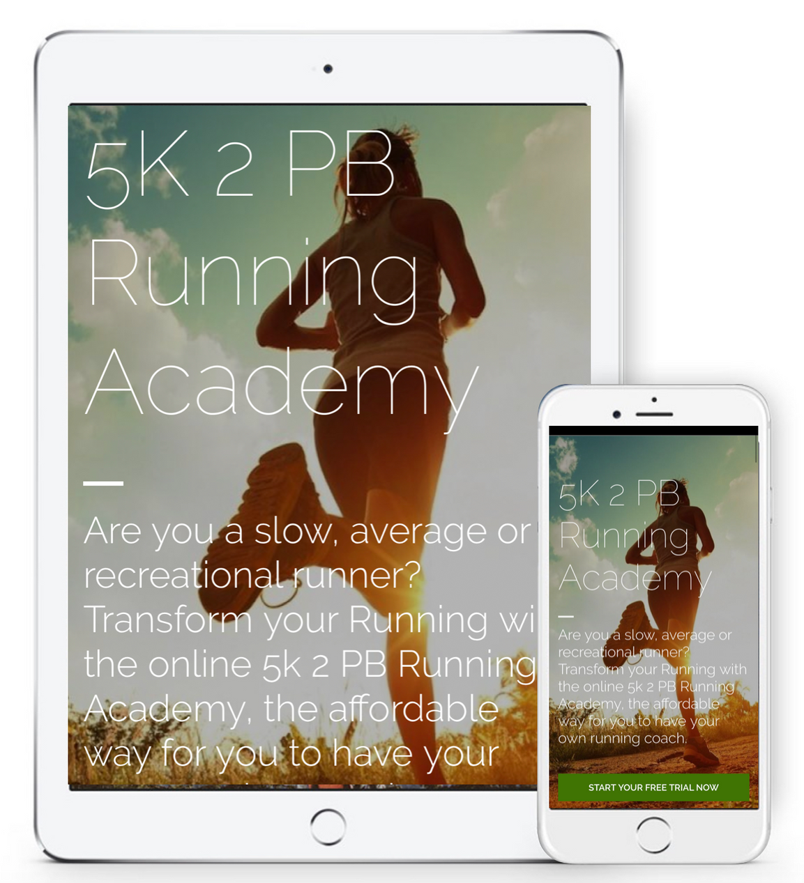 Online Running Coaching for all