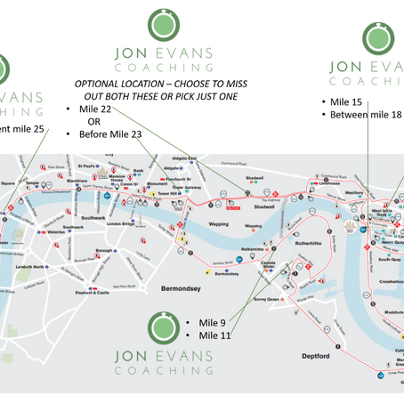 Our London Marathon Spectator Guide Part 2 - Where to stand to see your runner?