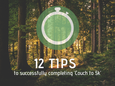 12 COUCH TO 5K TIPS TO ENSURE YOUR SUCCESS